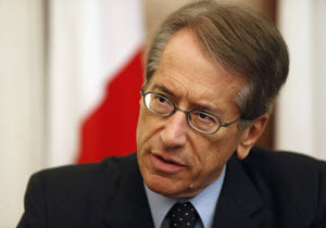 iulio Terzi former foreign affairs minister of Italy
