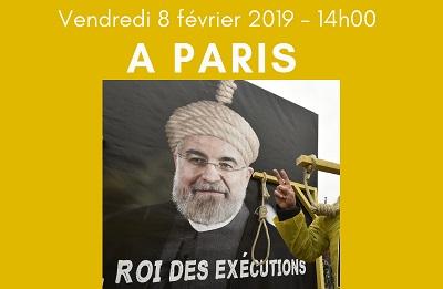 Free Iran Rally – Paris 8 February 2019