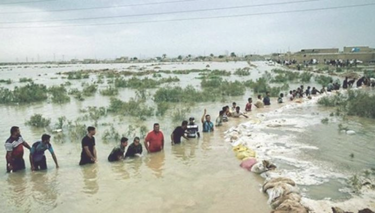 flood in iran