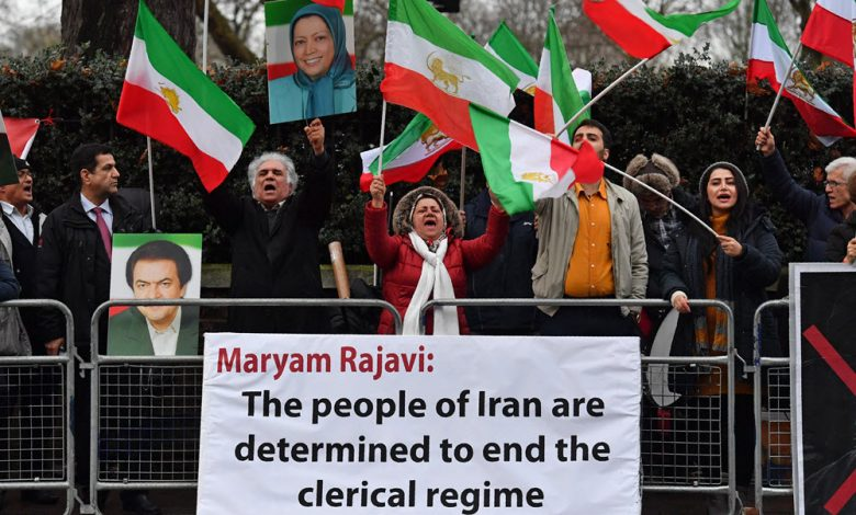 Iran Regime Cannot Overcome Pressure