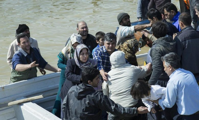 Iran Regime Suppressing Flood Victims Rather Than Helping