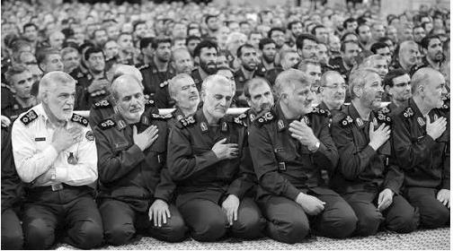 Iran Regime's Revolutionary Guards (IRGC)