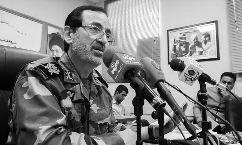 General_Ibrahim_Golfam_Cultural_Deputy_at_the_Joint_Chiefs_of_the_iranian_regimes_Armed_Forces