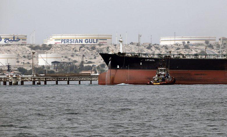 Iran Regime' Oil Ship