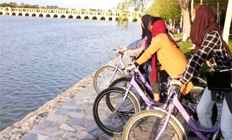 Irans_Regime_Bans_Women_From_Riding_Bicycles_in_Isfahan