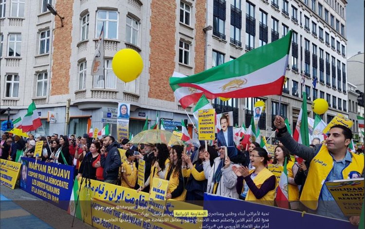 Iranian-Americans Rally in DC for Regime Change — by Irania