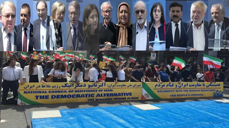 """""""Free Iran"""" march in Brussels receives significant media coverage"""