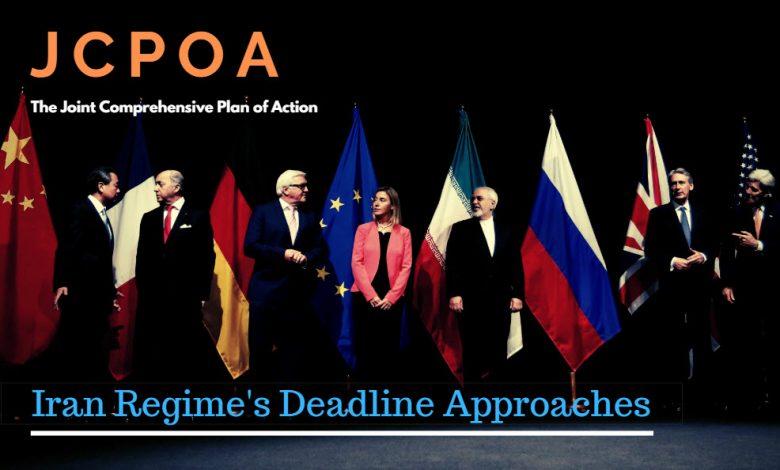 Iran Regime's Deadline Approache
