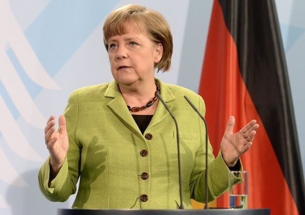 Germany's Chancellor Merkel