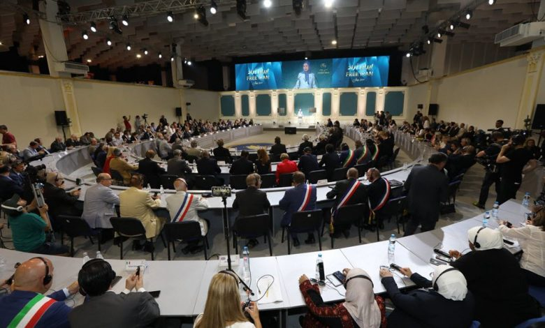 Iranian Opposition MEK Conference in Albania
