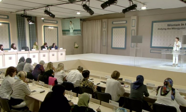 Live Report From Women's Rights Panel on Day 4 of the Free Iran Convention at the MEK's Headquarters