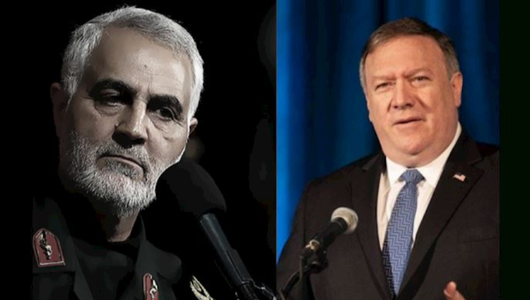 United States Secretary of State Mike Pompeo and soulimani