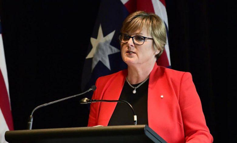 Australia's Defense Minister Linda Reynolds