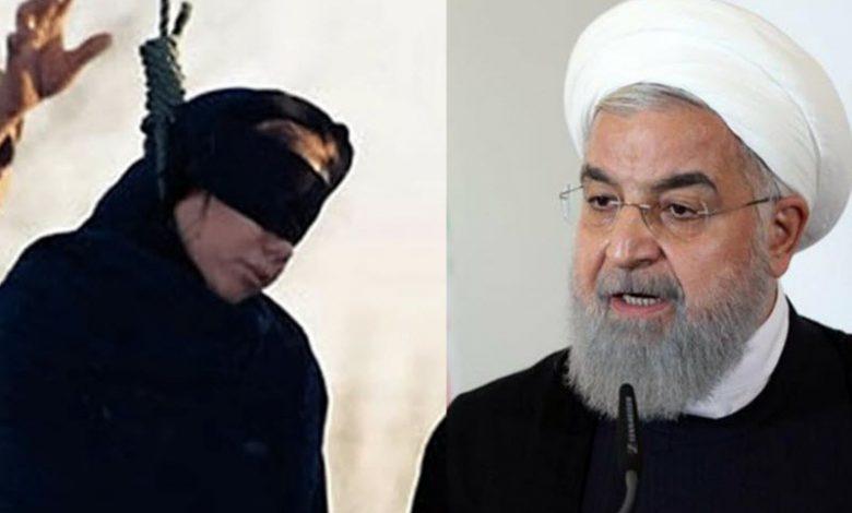 Iran's Regime Hangs Another Woman