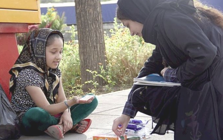 Street children in Iran (File Photo)