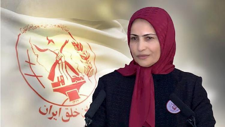 Ms. Zahra Merrikhi, Secretary General of the MEK