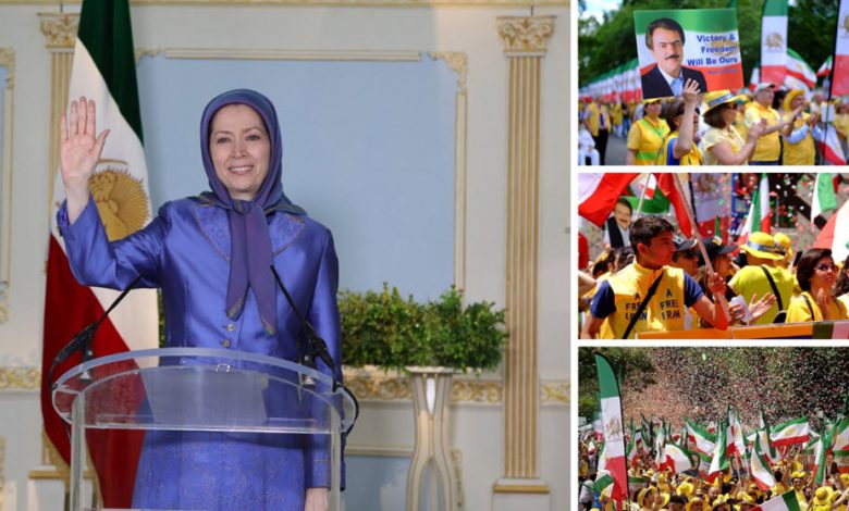 Message by Maryam Rajavi, to demonstration by Iranian-Americans