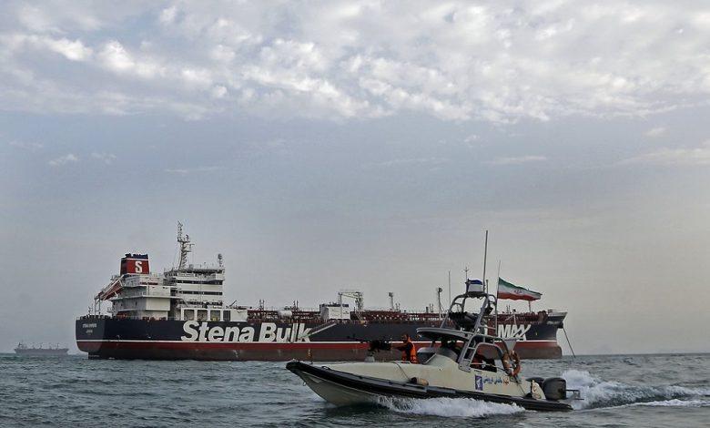 oil tanker belonging to the Iranian regime