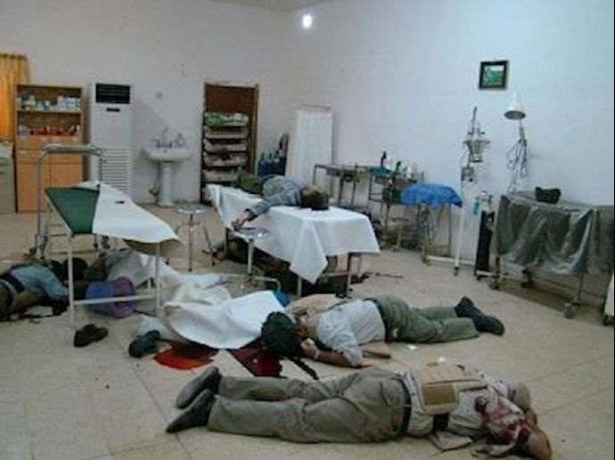 The US Department of State's Report on Iranian Regime Malign Activities; Camp Ashraf Massacre