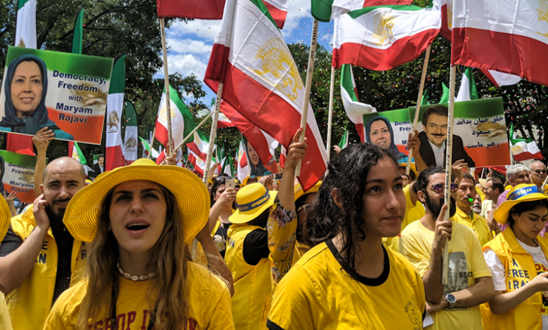Tens of thousand of NCRI supporters rally in Washington D.C.-June 21, 2019