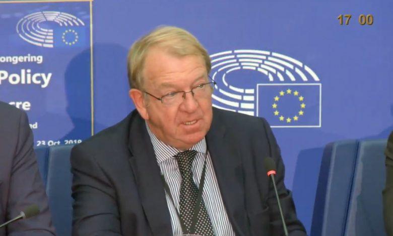 Former European lawmaker Struan Stevenson
