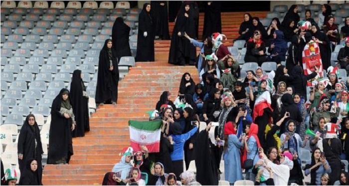 """Allowing women into the football stadium; """"A cynical public stunt"""""""