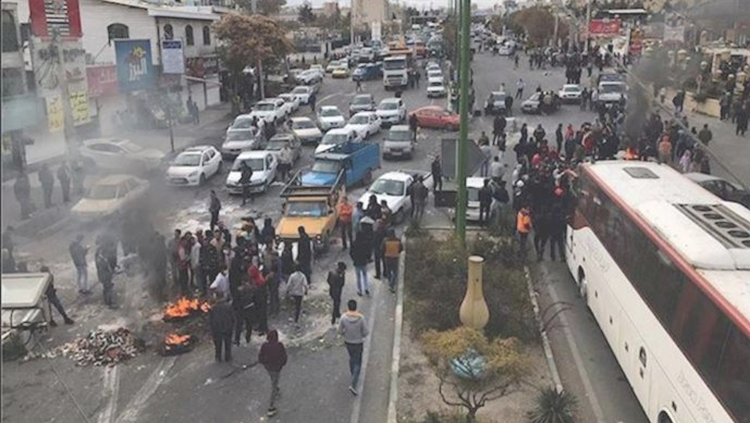 Iran protests-Tehran-November 2019-file photo