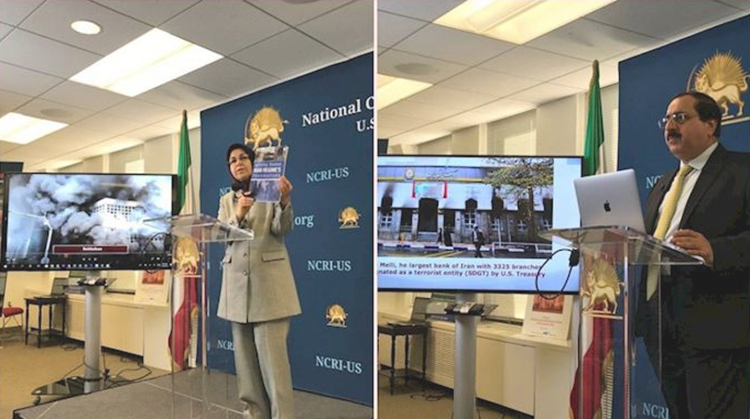 he NCRI-US office news conference on Iran Protests-November 26, 2019