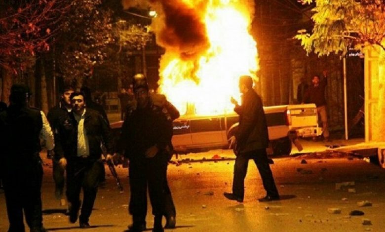 Iran Uprising-November 2019-file photo