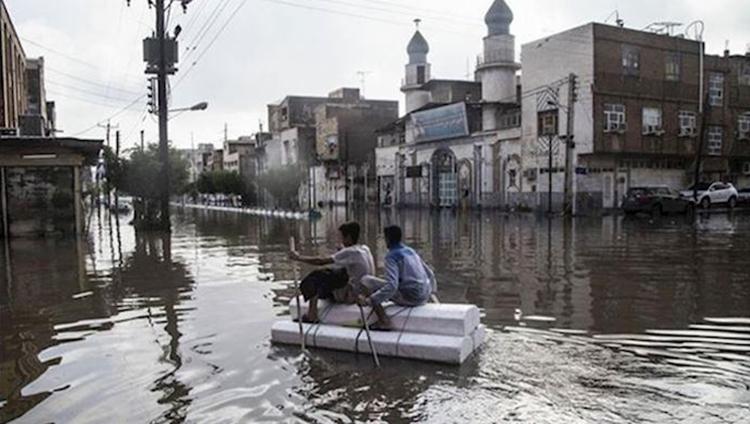 As Floods Hit Iran's Cities