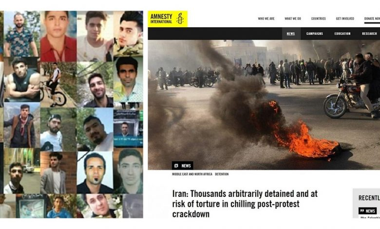 Amnesty Revises Its Death Toll for the Iran Protests