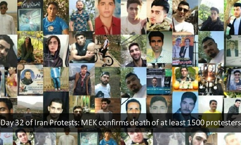 Among the 1,500 demonstrators killed in Iran