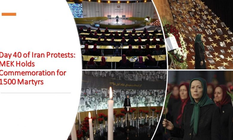 Day 40 of Iran Protests