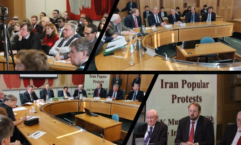 Cross-Party UK Members of Parliament Strongly Support Iran Protests