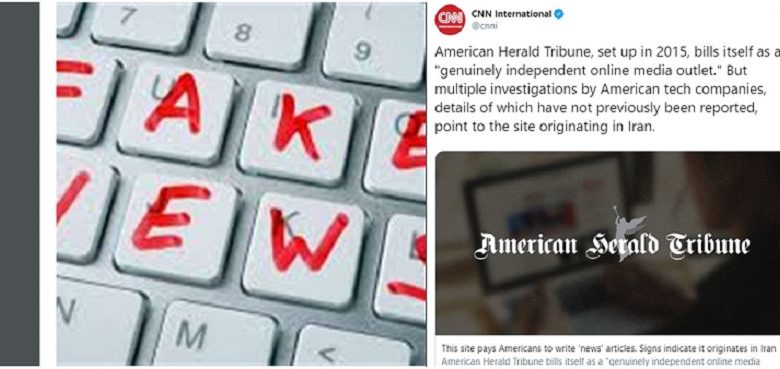 CNN: American Herald Tribune Is Run by Iran's Regime