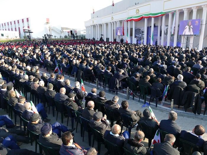 Gathering of members of the People's Mojahedin Organization of Iran (PMOI/MEK) at Ashraf-3 in Albania