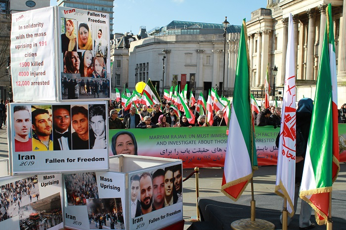 Iranians, MEK and NCRI Supporters Hold Rallies in Europe, US, and Canada on the anniversary of anti-monarchic revolution