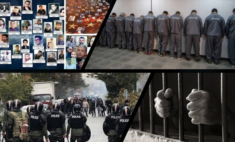 Iranian Regime's Judiciary Issues Harsh Sentences for Detained Protesters