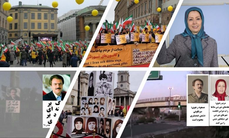 Iranians in and out of Iran Hold Campaigns for Freedom Simultaneous With the Anti-Monarchic Revolution Anniversary