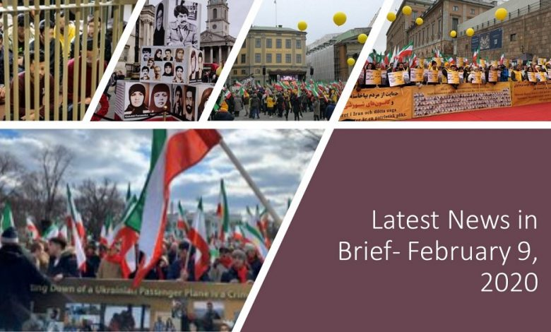 Latest News in Brief- February 9, 2020