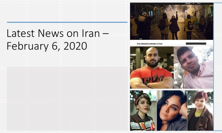 Latest News on Iran - February 6, 2020
