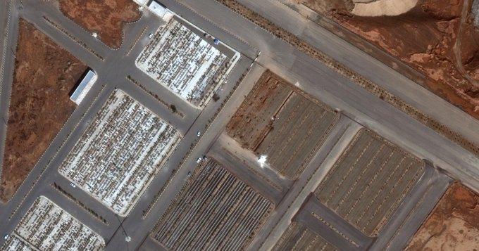 Iran, Qom - new graves for casualties of coronavirus