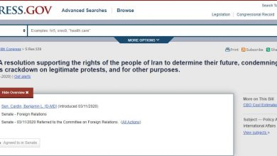 Photo of Bi-Partisan U.S. Senate Focus on Change in Iran