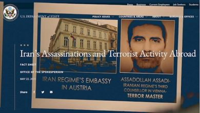 Photo of U.S. State Department Publishes Factsheet on Iran Regime's Terrorism