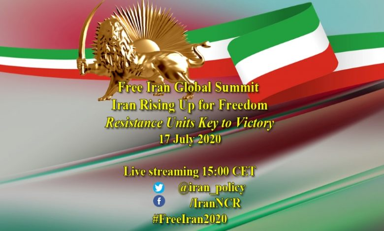 Free Iran Global Summit: Iran Rising Up for Freedom