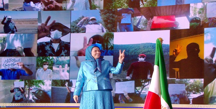 Free Iran Global Summit: Solidarity with the Iranian People's Uprising, Support for Resistance Units, and the Liberation Army