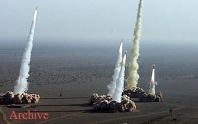 Missile test by the IRGC terrorists in Iran – July 2020