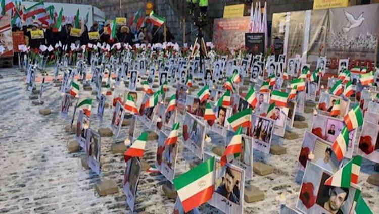 Massacre in 1988, Iran'