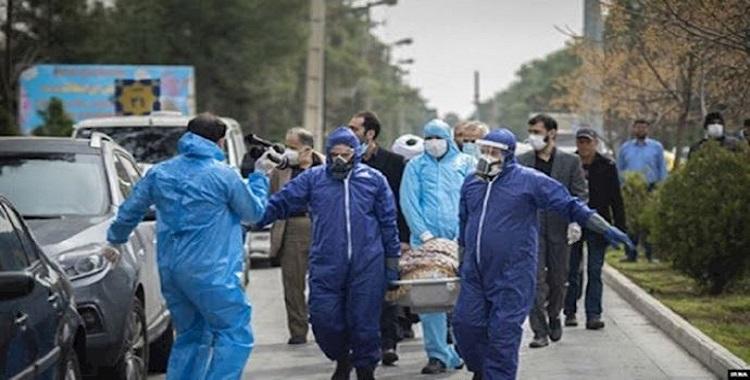 In memory of 100,000 victims of the Coronavirus in Iran