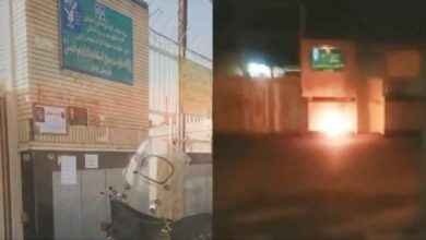 Photo of Iran: Defiant Youth Target Several Regime Centers of Suppression, Theft in Tehran, Isfahan, Mashhad, and Khorramabad on Anniversary of November 2019 Uprising